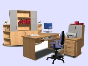 Мебель на заказ Томск, столы стеллажи