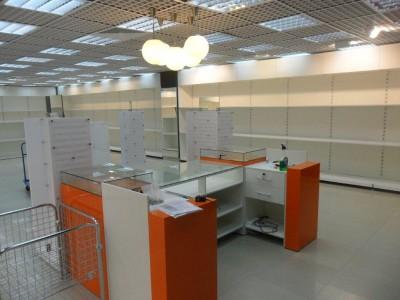 производство торговой мебели