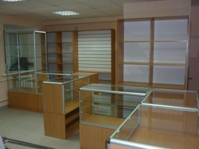 торговая мебель витрины